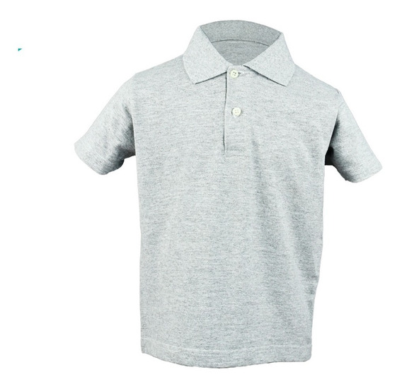 Playera Tipo Polo Niño Optima
