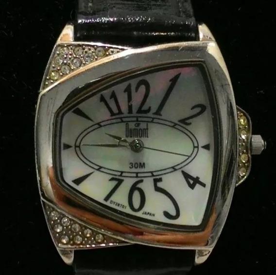 Relógio Dumont Feminino Pulseira Preta
