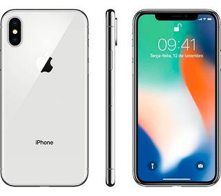 iPhone X Branco, Com Tela 6,1 , 4g, 64 Gb E Câmera De 12 Mp