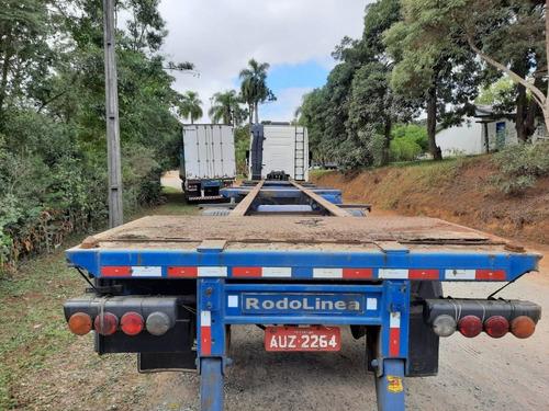 Carreta Porta Container 03 Eixos Rodolinea 2012 - 2 Unidades