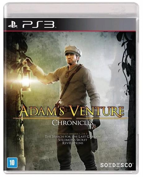 Adams Venture Chronicles Ps3 Mídia Física Lacrado Original