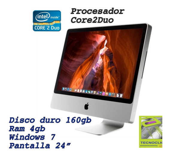 iMac Core2duo 8.1 Aluminio 24 Pulgadas