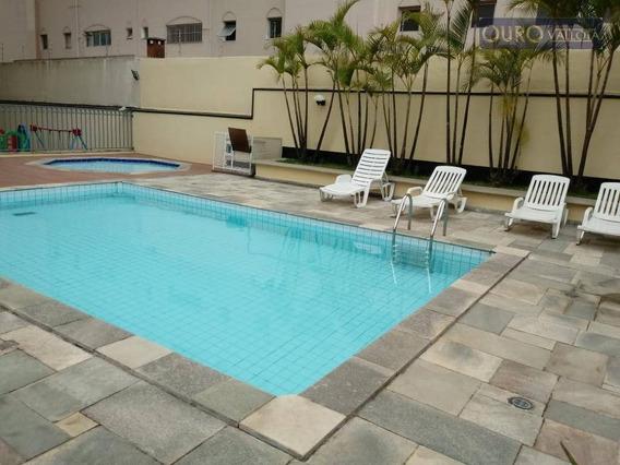 Apartamento Com 3 Dormitórios Para Alugar, 78 M² Por R$ 2.100,00/mês - Vila Bertioga - São Paulo/sp - Ap1313
