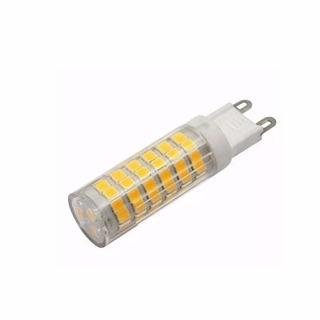 Pack X 10 Lampara Bipin Led G9 220v 8w 780lm Calida Fria