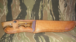 Cuchillo Montañero.pesado.ideal Uso Bushcraft.