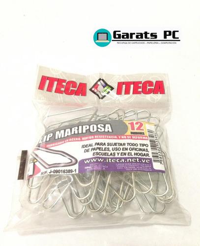 Clip Mariposa Iteca X10unid