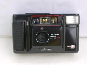 Yashica T Carl Zeiss Tessar 35mm Com Defeito ,não Funciona