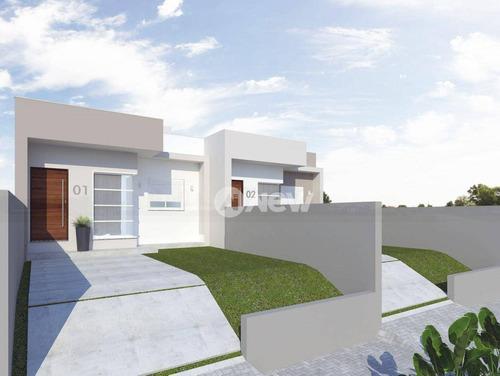Imagem 1 de 5 de Casa Com 2 Dormitórios À Venda, 55 M² Por R$ 299.000,00 - Canudos - Novo Hamburgo/rs - Ca3995