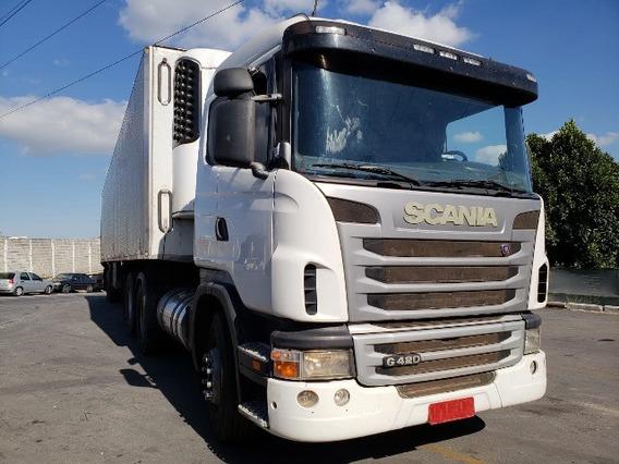 Scania G 124 420 6x2 Ano 2010/2010 Impecável Todo Original