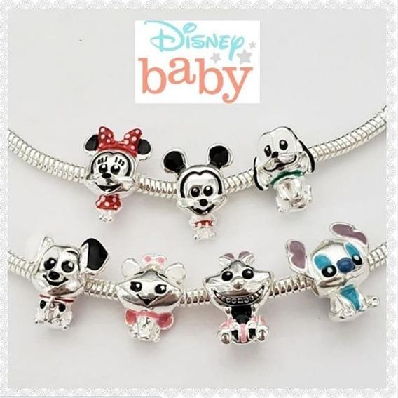 1 Berloque Disney Baby Banhado A Prata
