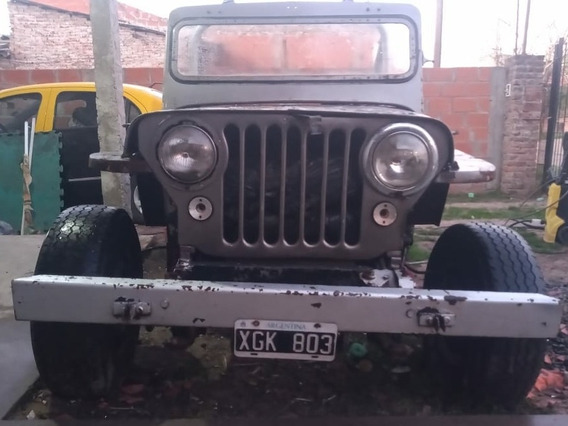 Jeep Willys Dj3b Modificado