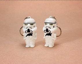 Kit 2 Chaveiros Darth Vader Ou Stormtrooper Star Wars