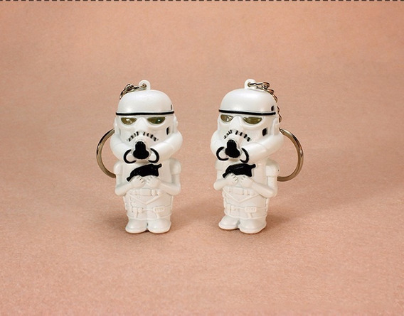 1 Chaveiro Stormtrooper Star Wars Com Luz