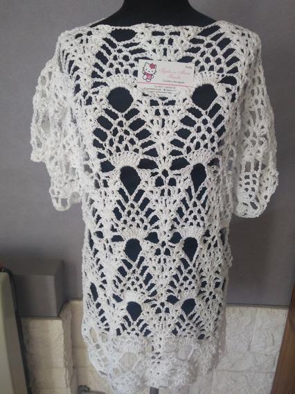 Remera Remeron Tejida Crochet Hilo