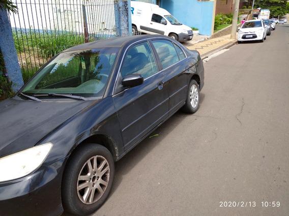 Honda Civic 2004 - Automático - R$ 12.500