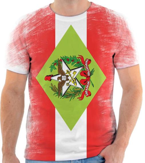 Camiseta, Camisa Estado De Santa Catarina
