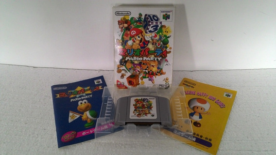 Mario Party Cib Japonesa Nintendo 64