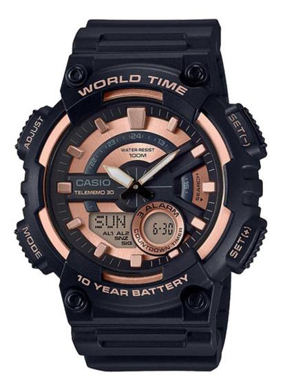 Relógio G-shock Masculino Aeq-110w-1a3vdf