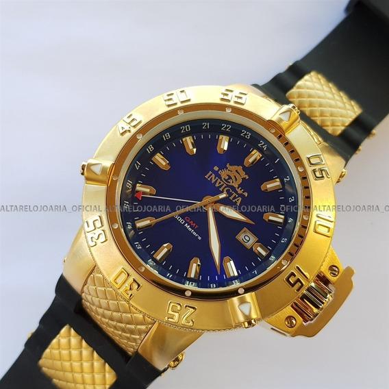 Relógio Invicta 1150 Subaqua Noma 3 Plaque Ouro