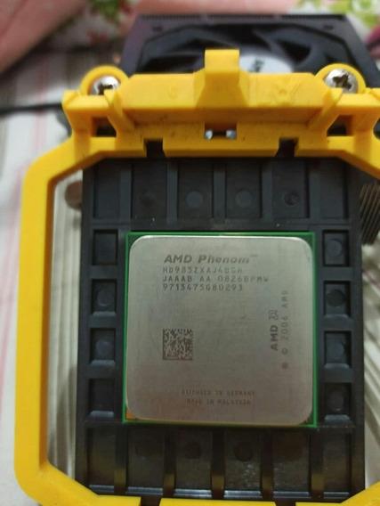 Phenom X4 9850 2.5ghz Quad-core Am2+ Com Cooler Original