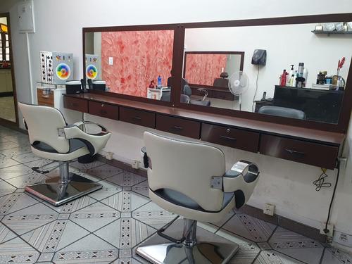 Imagem 1 de 10 de Salão De Beleza Completo