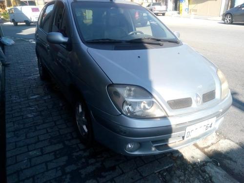 Renault Scenic 2005 Automatica Com Couro E Rodas 1.6