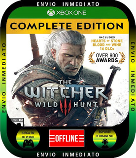 The Witcher 3 Complete Xbox 1 Local Mode