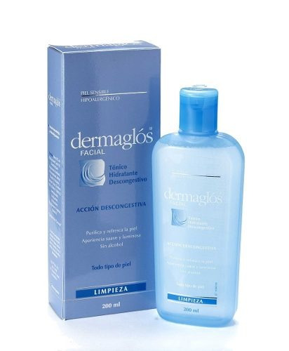 Dermaglós - Tónico Facial Hidratante Descongestivo X 200 Ml