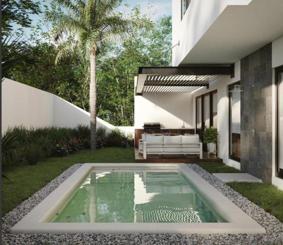 Hermosa Casa En Yucatán Country Club, Privada De Kutz.