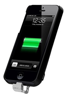 Carregador Portatil Para iPhone 5 Mili Hi-c25-blk Novo + Nf