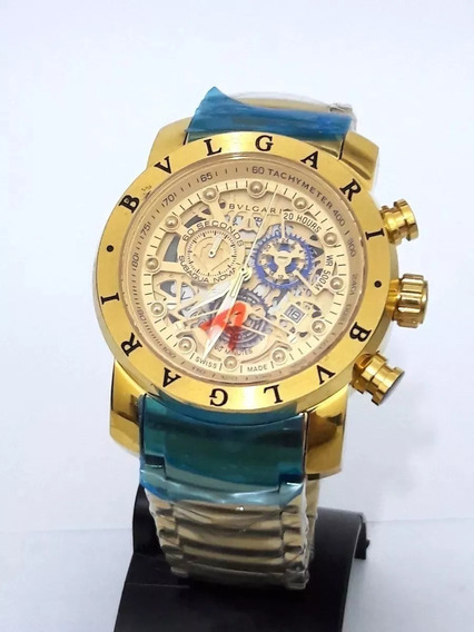 Relógio Masculino Ty002x Bv Vnon Dourado Serie Ouro