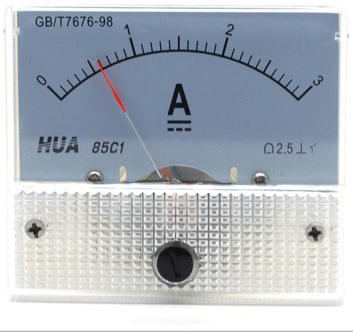 Dc A Analog Current Panel C Pointer Type Ammeter