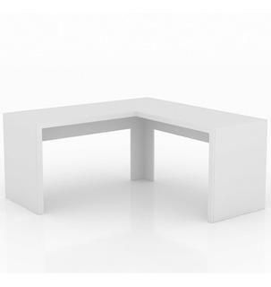 Mesa Para Escritório Em L Angular Me4116 Tecno Mobili Jg
