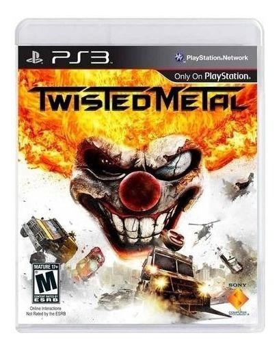 Jogo Midia Física Twisted Metal Ps3 Playstation 3