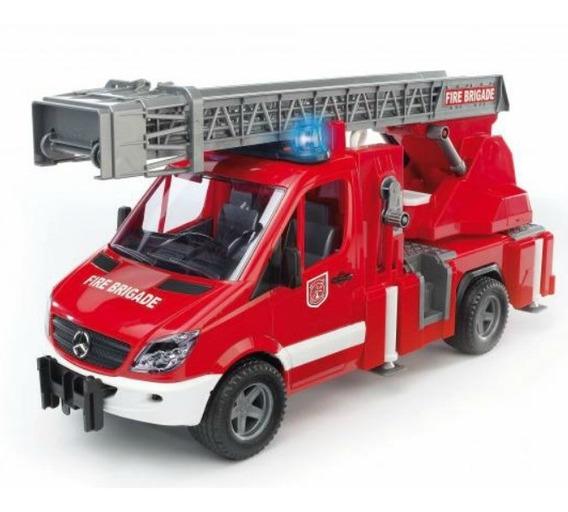 Juguetes Bruder Mb Sprinter Fire Engine W/loader Water 2532