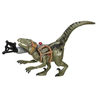 Jurassic World Bashers - Biters Velociraptor Blue Figure
