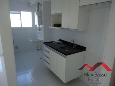 Aluguel De Apartamento Com Churrasqueira Na Sacada - Condomínio Club - Locação Facilitada - Ap00514 - 33913362