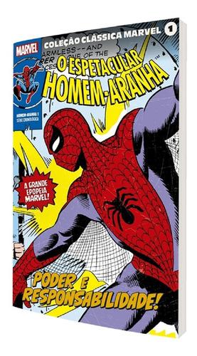Imagem 1 de 1 de Coleção Clássica Marvel Volume 1 Homem Aranha Edição 1 Panin