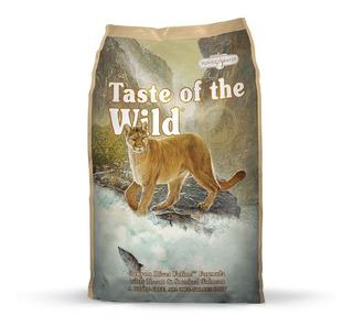 Alimento Gato Canyon River Taste Of The Wild Salmón 5lb