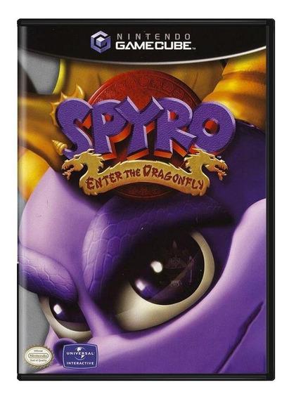 Spyro Enter The Dragonfly Gamecube Pronta Entrega