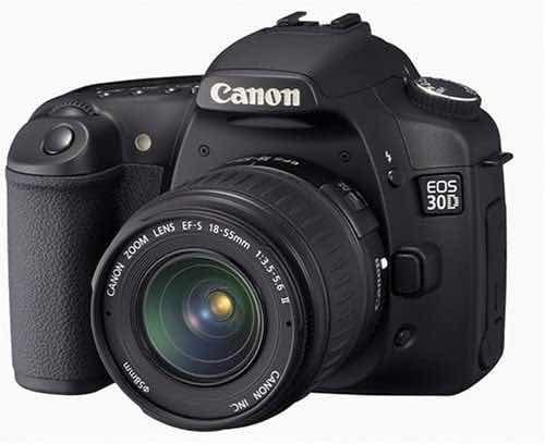 Câmera Profissional Canon Eos 30d Completa