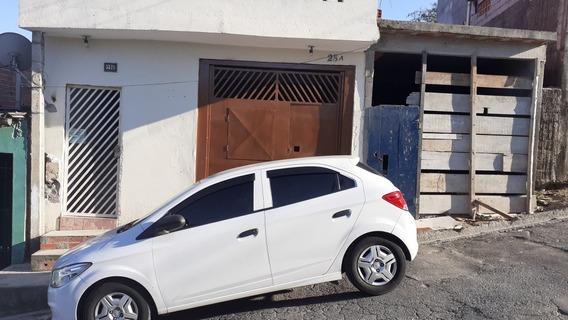 Aluga Se Casa $550 Jd.asturis Francisco Morato