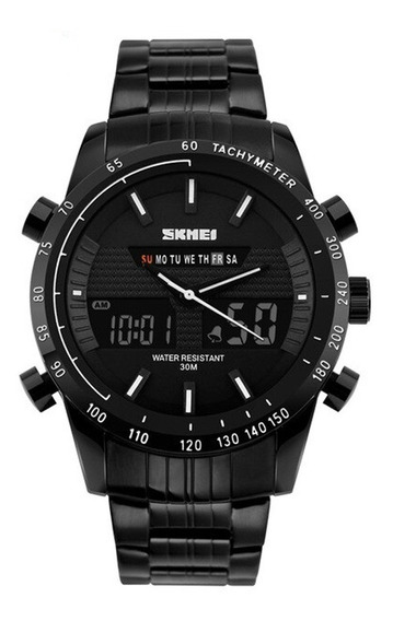 Relógio Masculino Skmei Anadigi 1131 Pt-br