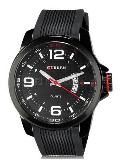 Relógio Luxo Masculino 8174 Curren Analógico Feminino