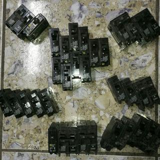 Breakers Electricidad Cod3825 Asch