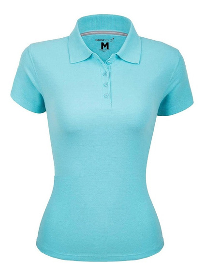 Playera Polo Premium Para Mujer National Style 2xl-xxl