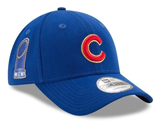 Gorra New Era Cachorros Chicago Cubs Campeones 9forty 2017