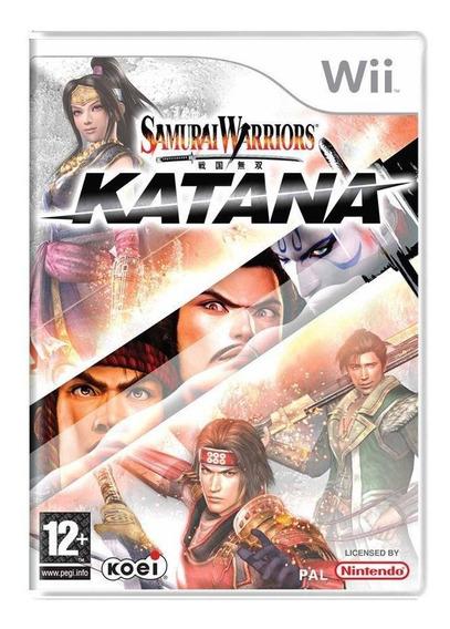 Samurai Warriors Katana Wii Europeu Mídia Física