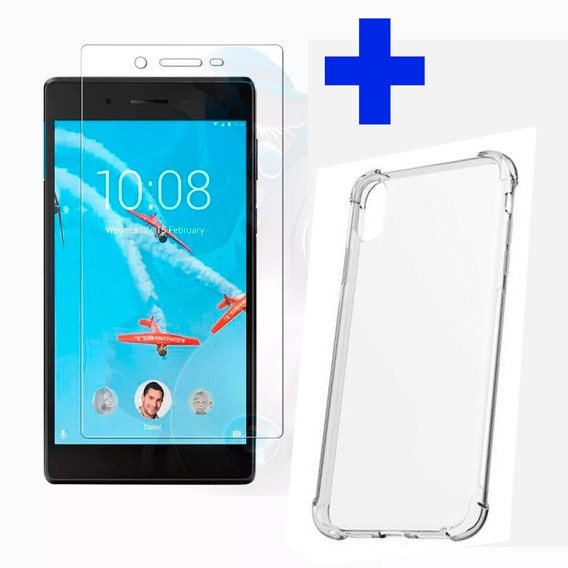 Tablet Lenovo Tb7104f 7 Wifi 1gb 16gb Negro + Cover Y Screen
