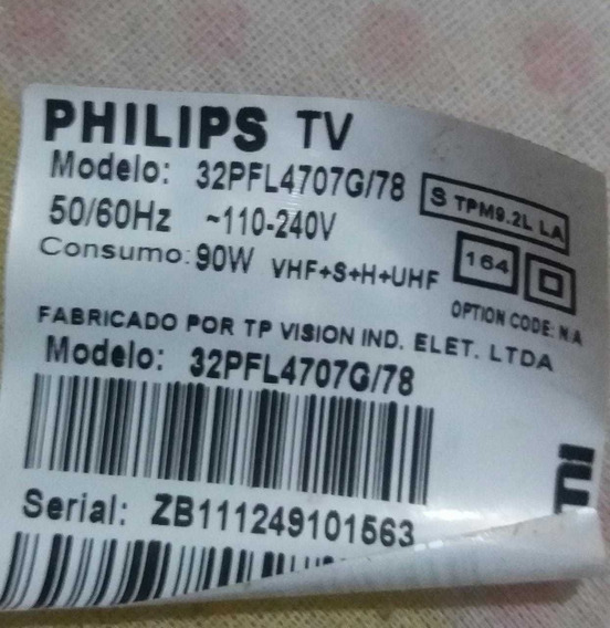 Teclado + Sensor Brinde Kit Fletes Philips 32pfl4707g/78